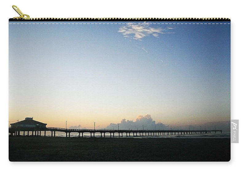 Water Carry-all Pouch featuring the photograph Good Morning by Marilyn Hunt