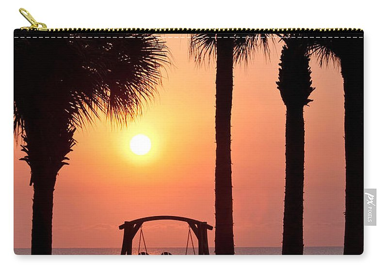 Sunrise Carry-all Pouch featuring the photograph Good Morning by Steven Sparks