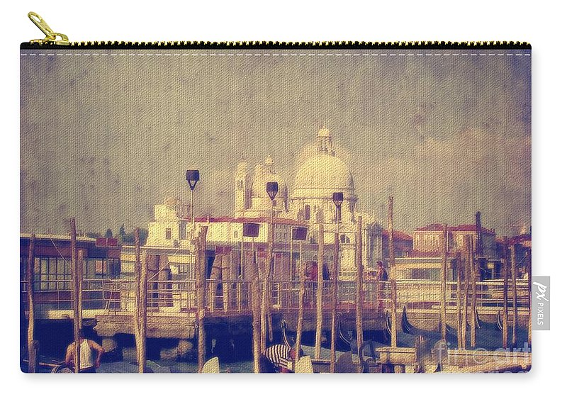 Venice Carry-all Pouch featuring the photograph Good Morning Venice by Lois Bryan