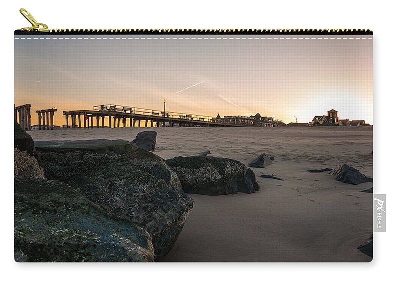 New Jersey Carry-all Pouch featuring the photograph Goodnight Grove by Kristopher Schoenleber