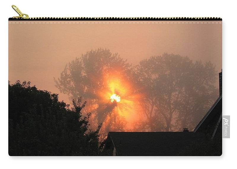 Landscapes Carry-all Pouch featuring the photograph Goodnight Kiss by Shari Chavira
