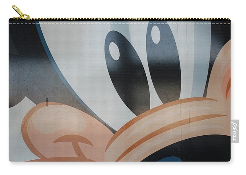 Disney Carry-all Pouch featuring the photograph Goofy by Rob Hans