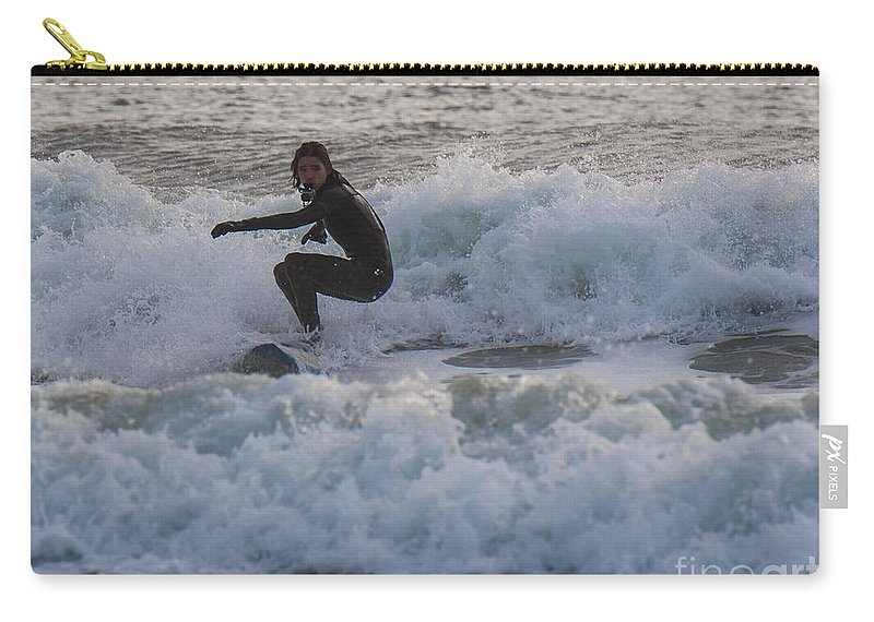 Natanson Carry-all Pouch featuring the photograph Gopro by Steven Natanson