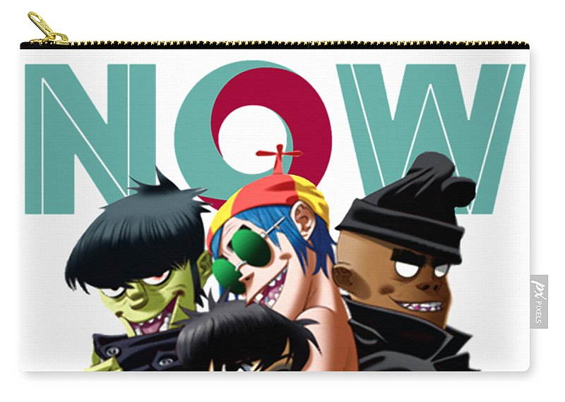 Gorillaz The Now Now Tour 2018 Ysf01 Carry-all Pouch