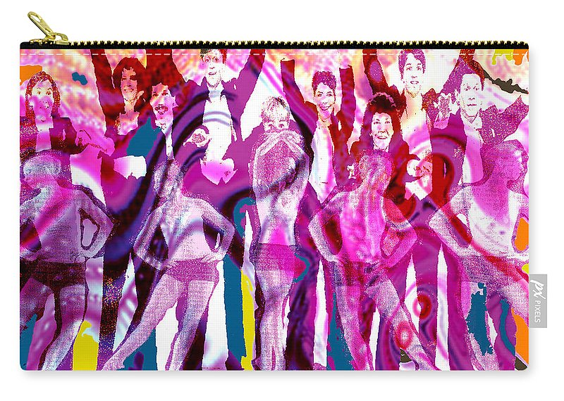 Joy Carry-all Pouch featuring the digital art Got to Dance by Seth Weaver