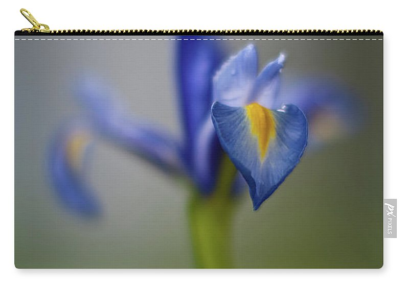Iris Carry-all Pouch featuring the photograph Graceful Iris by Mike Reid