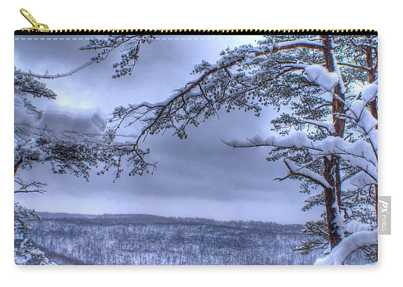 Winter Carry-all Pouch featuring the photograph Gracious Winter by Douglas Barnett