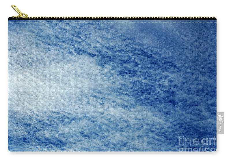 Clay Carry-all Pouch featuring the photograph Grainy Sky by Clayton Bruster