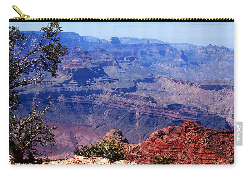 Photography Carry-all Pouch featuring the photograph Grand Canyon View by Susanne Van Hulst