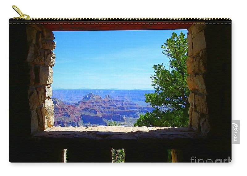 Grand Canyon Carry-all Pouch featuring the photograph Grand Picture by Charleen Treasures