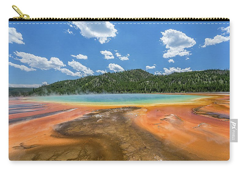 Grand Carry-all Pouch featuring the photograph Grand Prismatic by Alpha Wanderlust