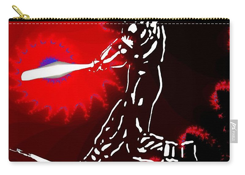 Baseball Carry-all Pouch featuring the photograph Grand Salami 2 by Tim Allen