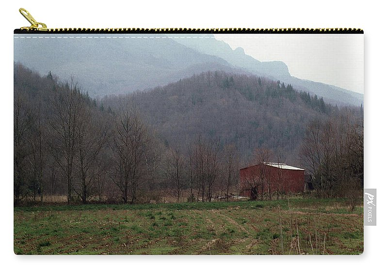 North Carolina Carry-all Pouch featuring the photograph Grandfather Mountain by Richard Rizzo
