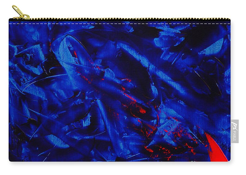 Abstract Carry-all Pouch featuring the painting Grandma IIi by Dean Triolo