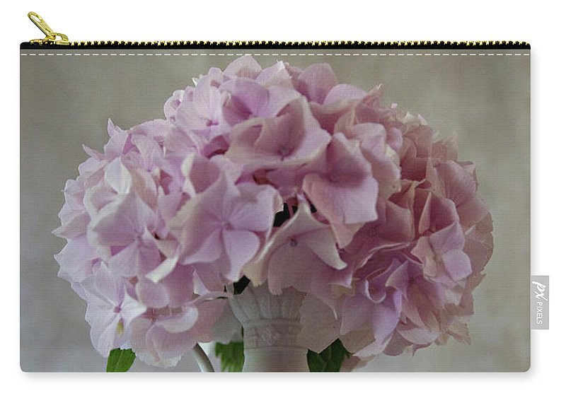 Flower Carry-all Pouch featuring the photograph Grandmother's Vase  by Sherry Hallemeier