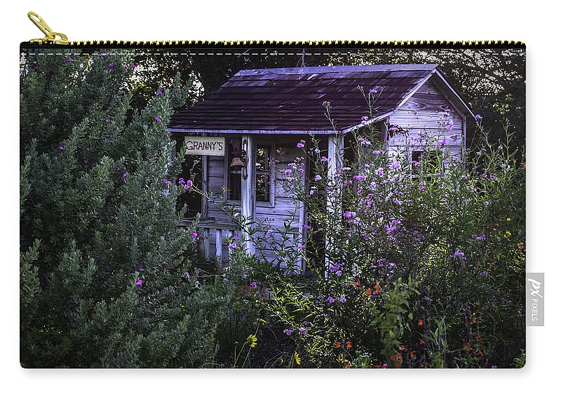House Carry-all Pouch featuring the photograph Granny's Garden by Leticia Latocki