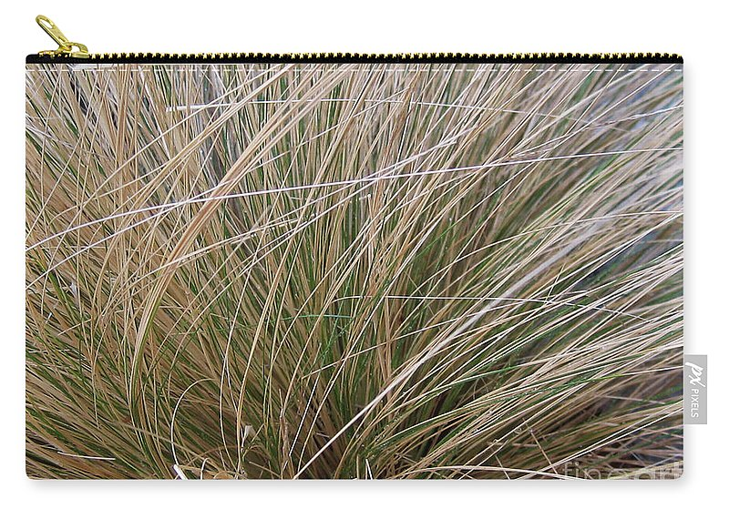 Adrian March Carry-all Pouch featuring the photograph Grasses 5 by Adrian March
