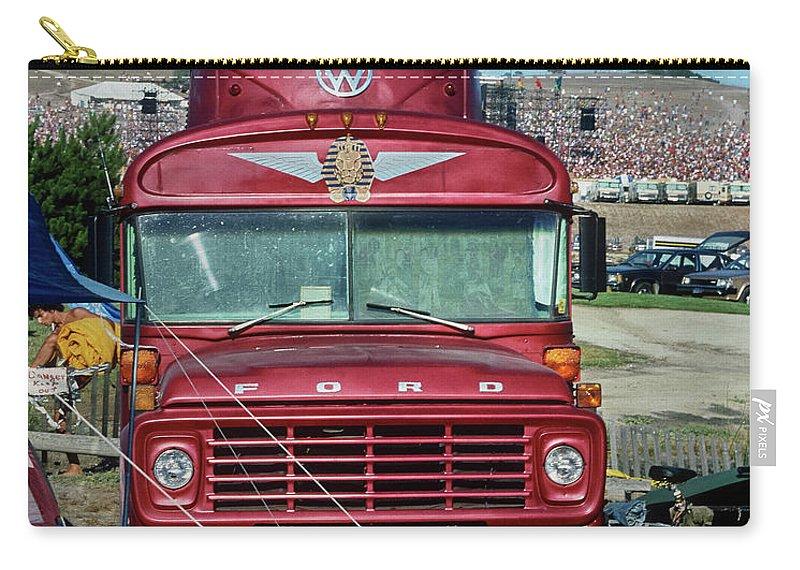 Grateful Dead Tour Bus Carry-all Pouch