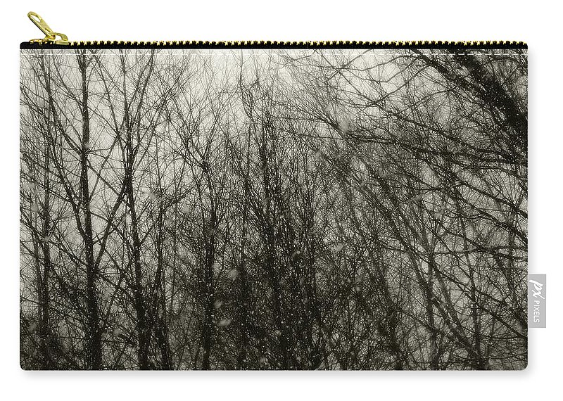 Connecticut Carry-all Pouch featuring the photograph Gray Dawn by RC DeWinter
