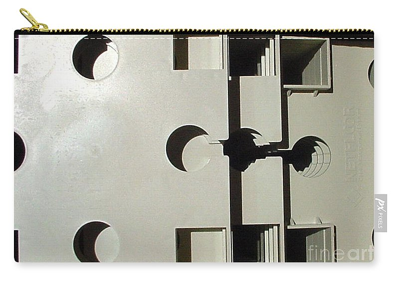 Digital Image Carry-all Pouch featuring the photograph Grays by Ron Bissett