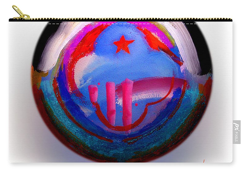 9/11 Carry-all Pouch featuring the painting Great Glad Morning by Charles Stuart