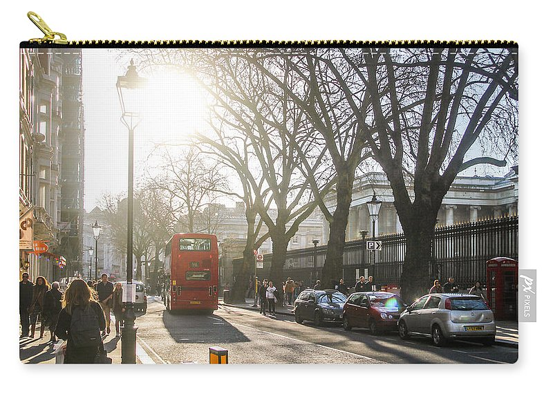 London Carry-all Pouch featuring the photograph Great Russell St. In The Afternoon by Sam Garcia