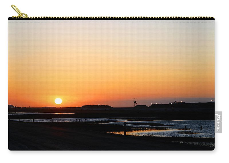 Landscape Carry-all Pouch featuring the photograph Greater Prudhoe Bay Sunrise by Anthony Jones