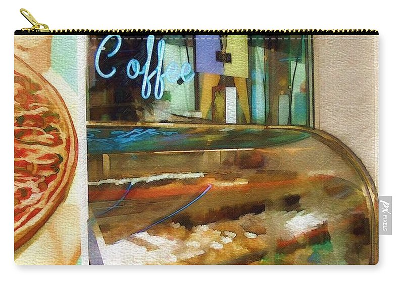 Greek Carry-all Pouch featuring the photograph Greek Coffee by Sandy MacGowan