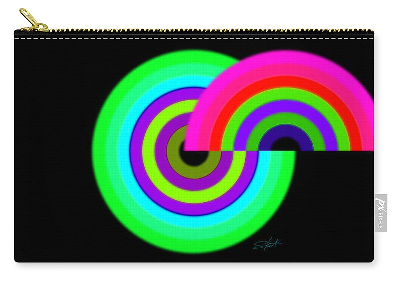 Carry-all Pouch featuring the painting Green by Charles Stuart