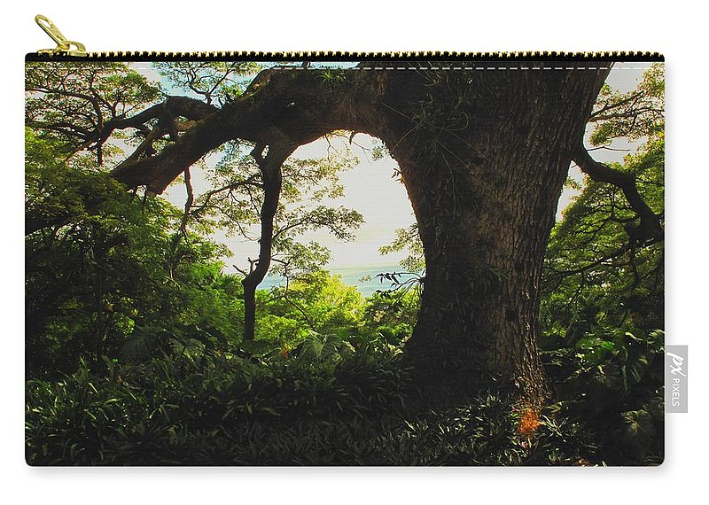 Tropical Carry-all Pouch featuring the photograph Green Giant by Ian MacDonald