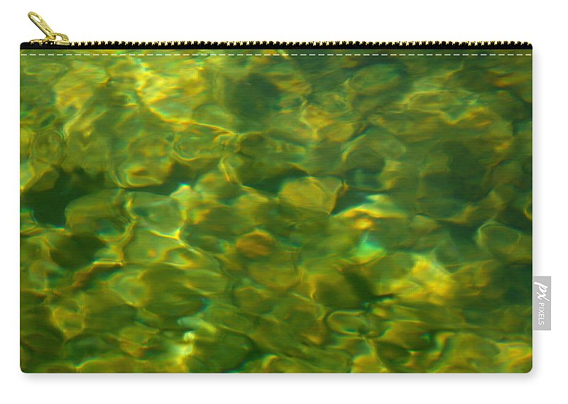 Water Carry-all Pouch featuring the photograph Green Mile by Donna Blackhall