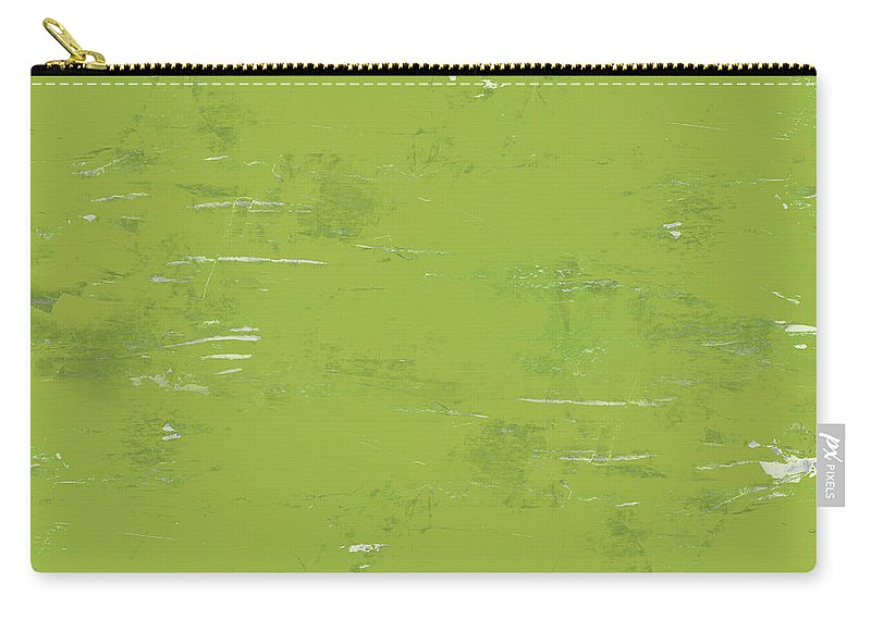 Abstract Carry-all Pouch featuring the painting Green Punch by Tonya Doughty