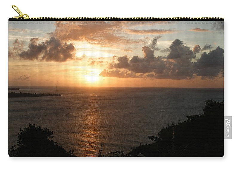 Grenada Carry-all Pouch featuring the photograph Grenadian Sunset I by Jean Macaluso