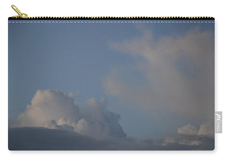 Clouds Carry-all Pouch featuring the photograph Greyskys by Rob Hans