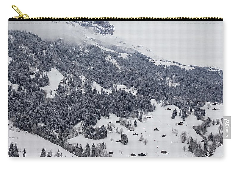 Landscape Carry-all Pouch featuring the photograph Grindelwald In Winter 3 by Pavel Klyuyev
