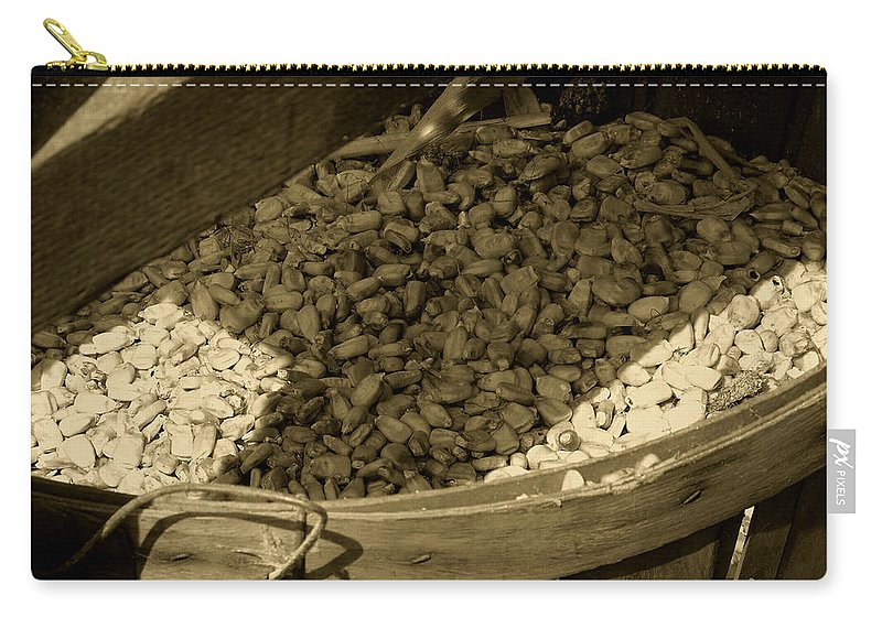 Agriculture Carry-all Pouch featuring the photograph Grist For The Mill by RC DeWinter