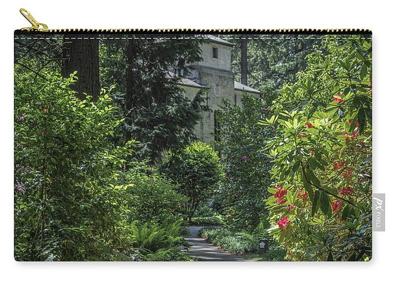 Landscape Carry-all Pouch featuring the photograph Grotto Monastery by David Barile