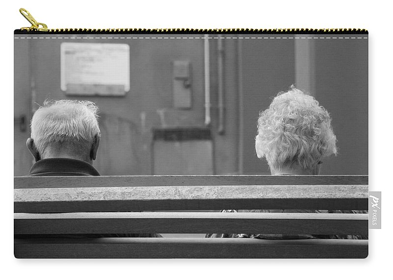 Travel Carry-all Pouch featuring the photograph Growing Old Together by Ian Middleton