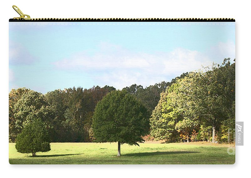 Tree Carry-all Pouch featuring the photograph Growing Up by Amanda Barcon