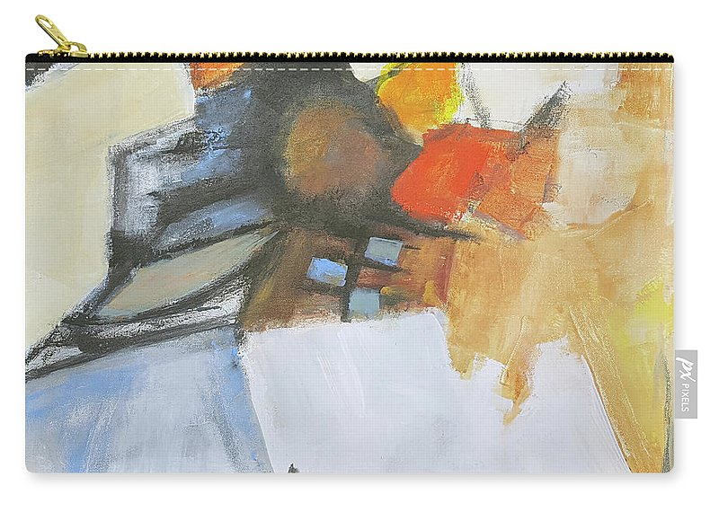 Abstract Carry-all Pouch featuring the painting Guardian by Ron Stephens