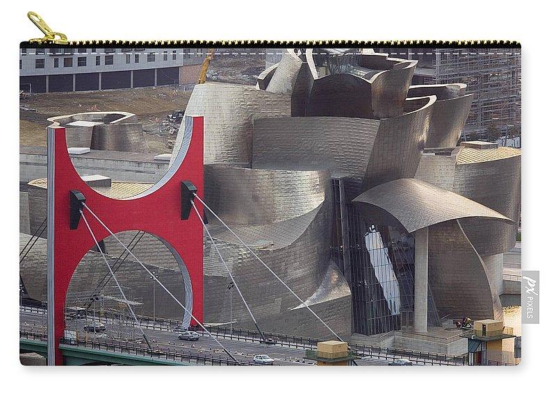 Spain Carry-all Pouch featuring the photograph Guggenheim Bilbao Museum IIi by Rafa Rivas