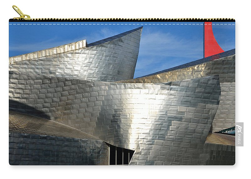 Guggenheim Carry-all Pouch featuring the photograph Guggenheim Museum Bilbao - 5 by RicardMN Photography