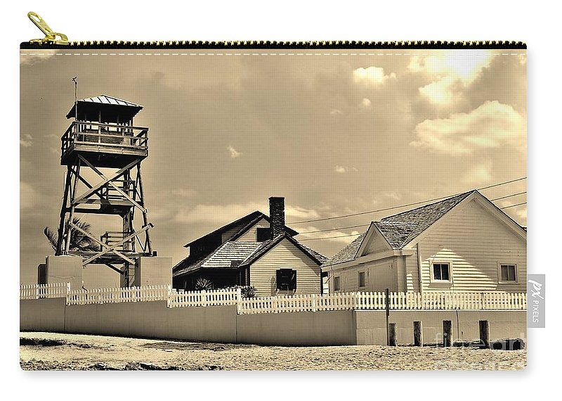 Guiding Light Carry-all Pouch featuring the photograph Guiding Light by Lisa Renee Ludlum