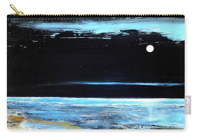Landscape Carry-all Pouch featuring the painting Guiding Light by Toni Grote