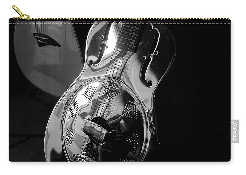 Guitars Carry-all Pouch featuring the photograph Guitars by David Lee Thompson