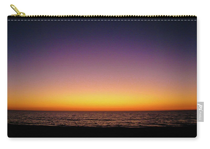 Sunset Carry-all Pouch featuring the photograph Gulf Afterglow by Bradley Dever