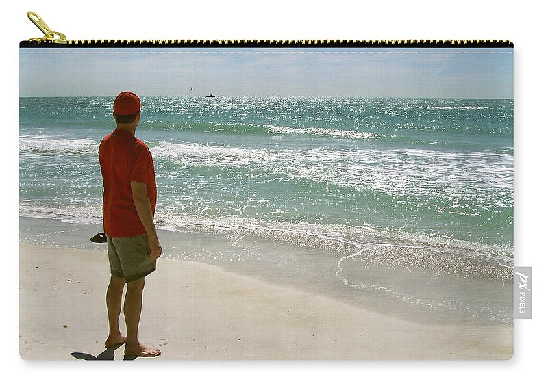 Nature Carry-all Pouch featuring the photograph Gulf Dreams by Peg Urban
