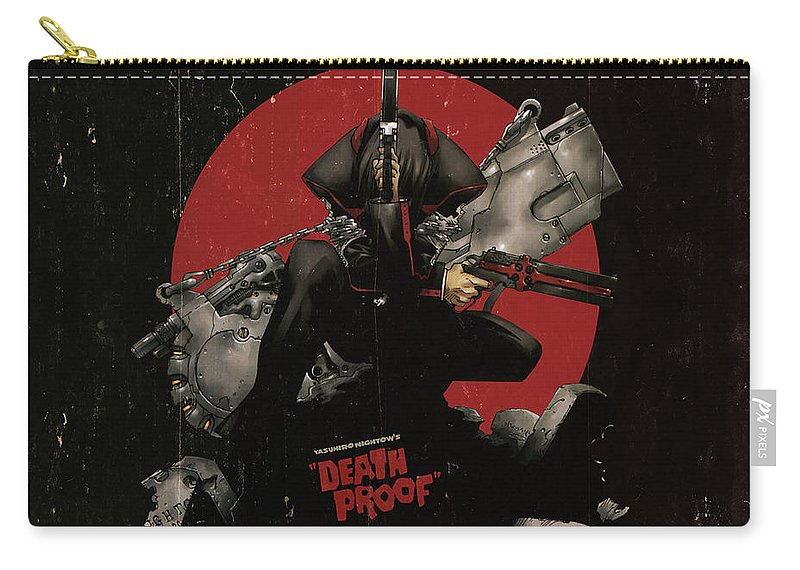 Gungrave Carry-all Pouch featuring the digital art Gungrave by Mery Moon