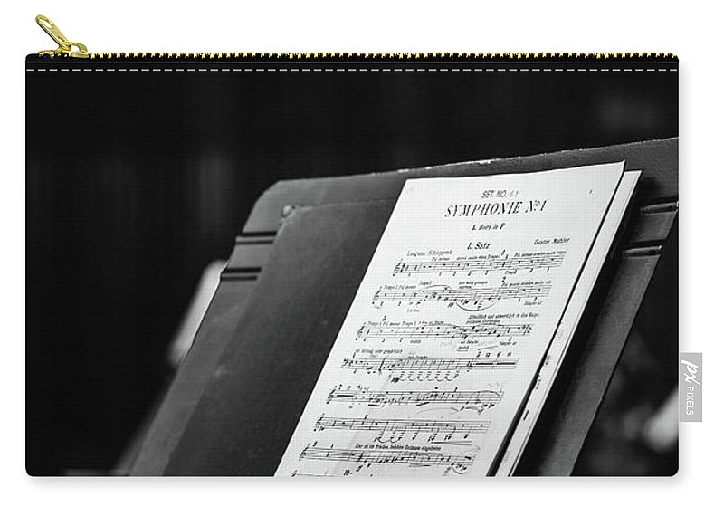 Opera Carry-all Pouch featuring the photograph Gustav Mahler Symphony No 1 by Marco Oliveira