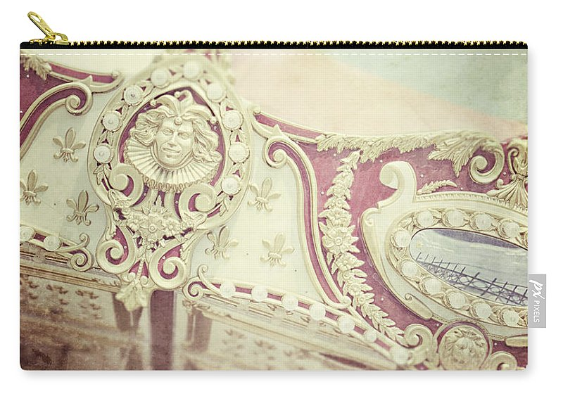 Carousel Carry-all Pouch featuring the photograph Gypsy by Lisa Russo